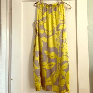 Silk Spring Floral Dress